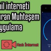 Mobil internet Hızlandıran Yöntem   ANDROİD