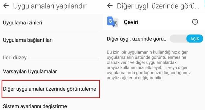 Android istenmeyen reklamları engelleme Yöntemi 4