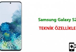Samsung Galaxy S20 – Teknik Özellikleri