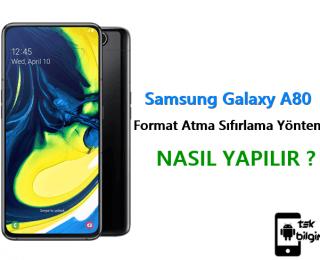 Samsung Galaxy A80 Format Atma Sıfırlama Yöntemi