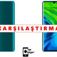 Xiaomi Mi Note 10 ve Xiaomi Mi Note 10 Pro – Karşılaştırma