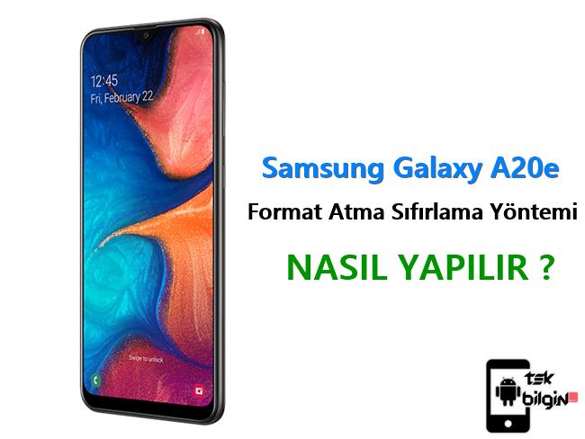 Samsung Galaxy A20e Format Atma Sıfırlama Yöntemi 10