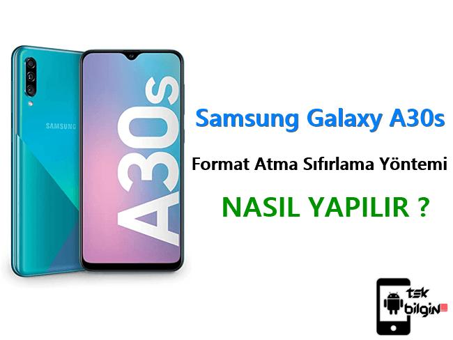 Samsung Galaxy A30s Format Atma Sıfırlama Yöntemi 18