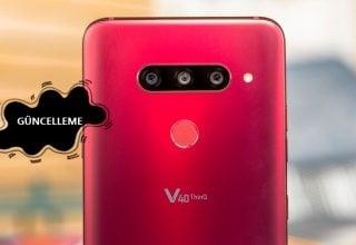 LG V40 ThinQ Yeni Güncellemeyle Alıyor