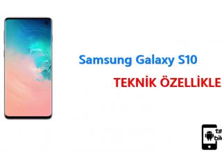Samsung Galaxy S10 – Teknik Özellikleri