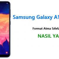 Samsung Galaxy A10 Format Atma Sıfırlama Yöntemi