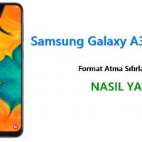 Samsung Galaxy A30 Format Atma Sıfırlama Yöntemi
