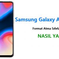 Samsung Galaxy A8s Format Atma Sıfırlama Yöntemi
