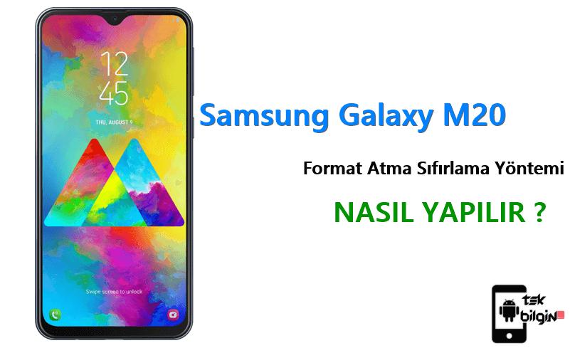 Samsung Galaxy M20 Format Atma Sıfırlama Yöntemi 16