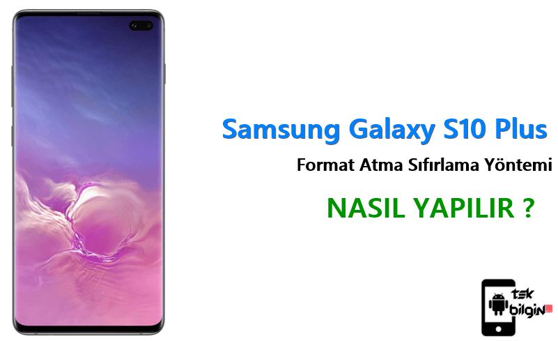 Samsung Galaxy S10 Plus Format Atma Sıfırlama Yöntemi 10
