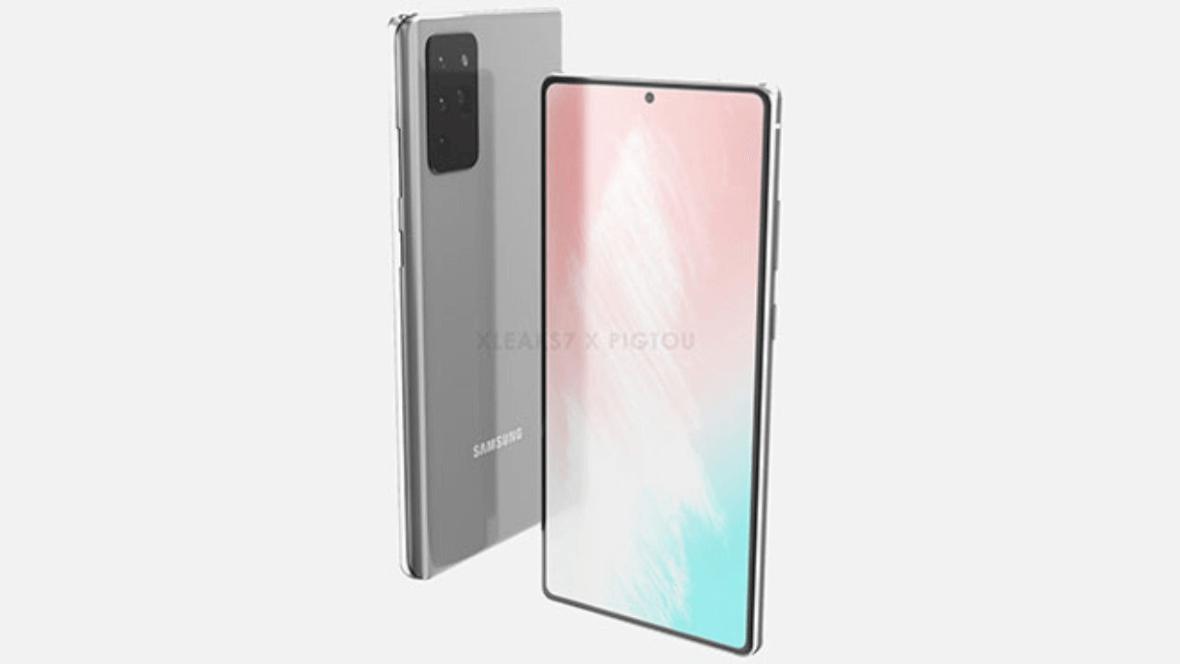 Samsung Galaxy Note 20 Tasarımı Ortaya Çıkmaya Başladı