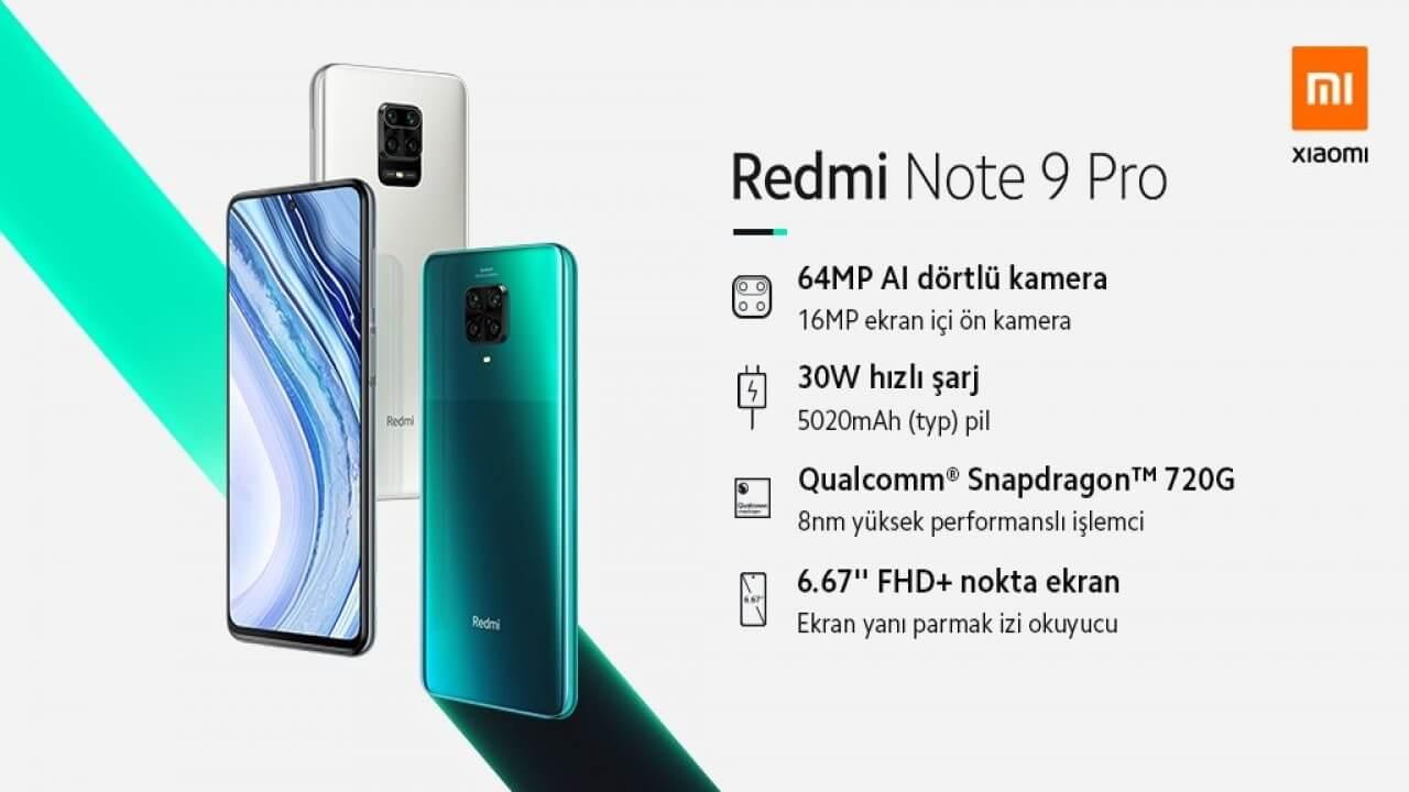 Redmi Note 9 Pro Türkiye Satış Fiyatı Belli Oldu 9