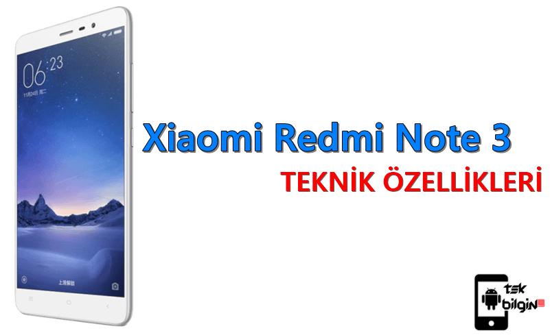 Xiaomi Redmi Note 3 – Teknik Özellikleri 9