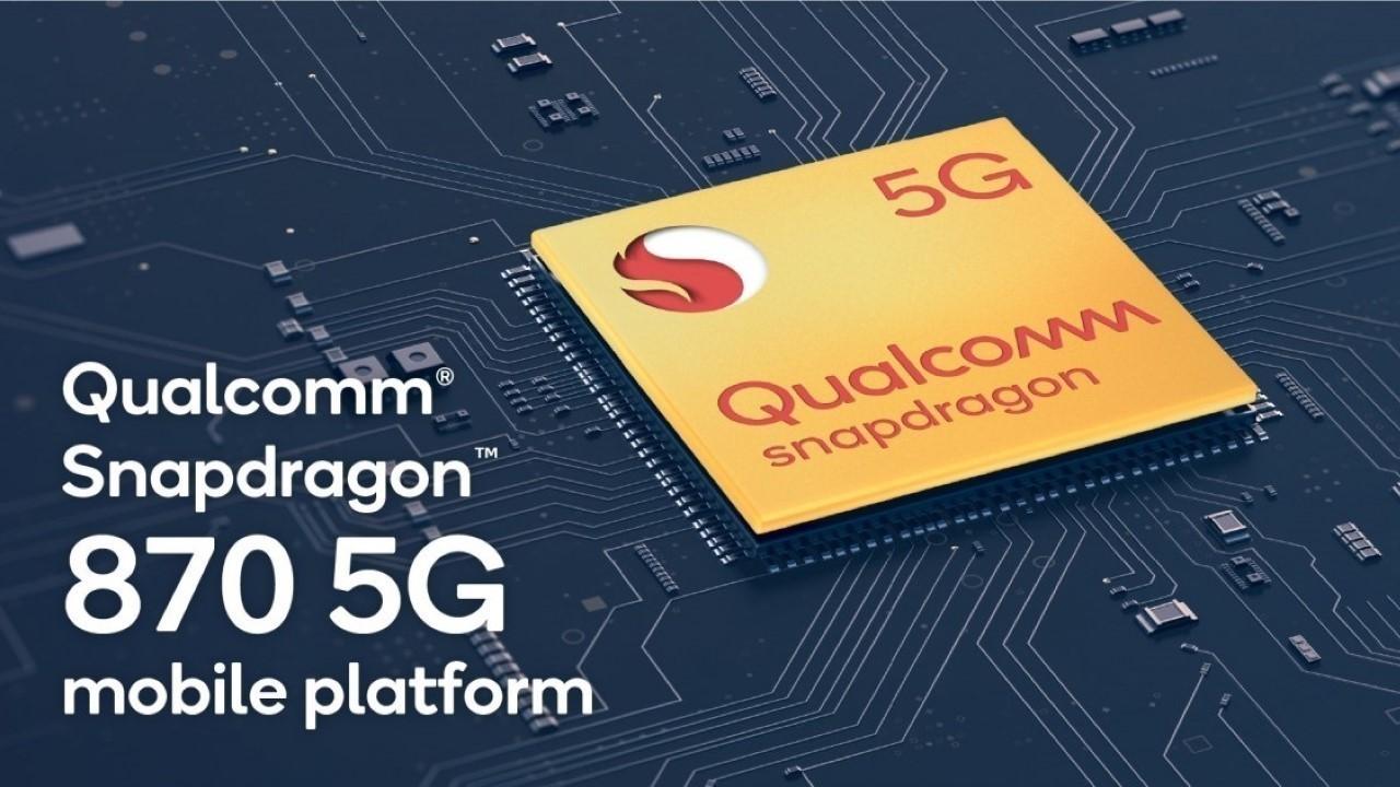 Snapdragon 870 5G İşlemci Duyuruldu