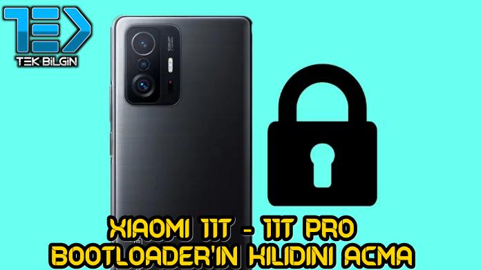 Xiaomi 11T ve 11T Pro Bootloader Kilidini Açma Yöntemi